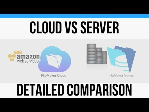 FileMaker Cloud-Detailed Comparison with FileMaker Server-Online FileMaker 16 Video Training