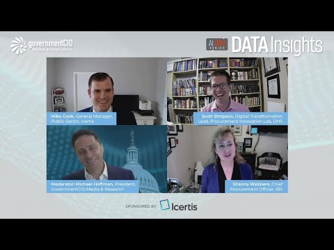 AI Gov Data Insights: Streamlining Procurement with AI - Sponsored by Icertis