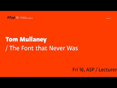 The Font that Never Was