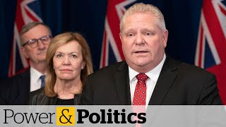 COVID-19: Ontarians won't lose jobs if they have to stay home, premier says