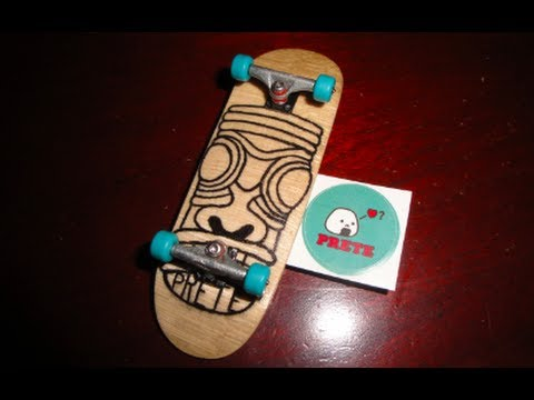 how to make a fingerboard deck