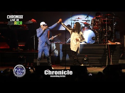 Chronixx  Chronicle and  Jah 9 Performing AT MAS CAMP JAMAICA 2017