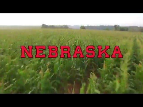 Nebraska Cornhusker Harvest 2015   -Drone Videography