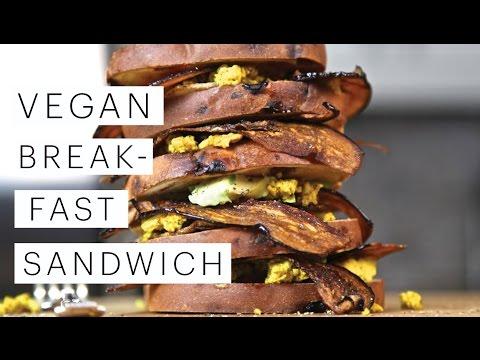 Vegan Breakfast: Epic Breakfast Sandwich | The Edgy Veg