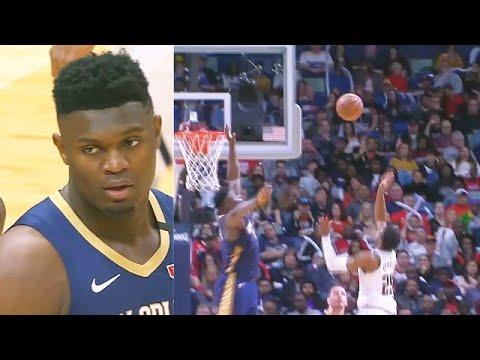Zion Williamson UNREAL Savage Block & Amazing Highlights! Pelicans vs Nuggets 2020 NBA Season