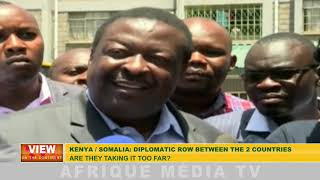 THE DIPLOMATIC ROW BETWEEN THE TWO COUNTRIES ARE THEY TAKING IT TOO FAR ?