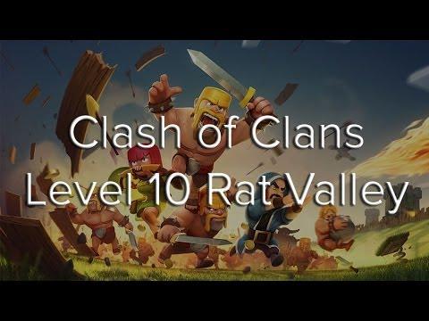 Clash Of Clans Rat Valley Walkthrough Updated