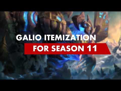 Galio Guide for Season 11: Itemization
