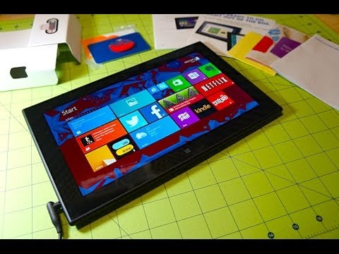 Nokia Lumia 2520 Unboxing