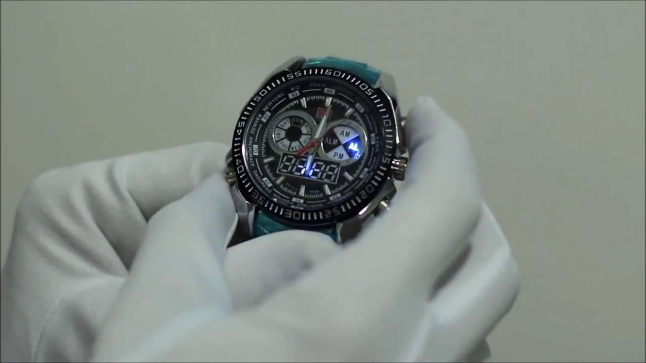 1fd49dfed65 Relógio TVG Masculino Importado Barato LED Aço Inox Luxo Esportes Prova de  Água Alarme