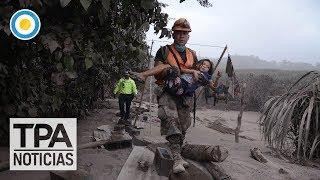 Volcán de fuego en Guatemala | #TPANoticias