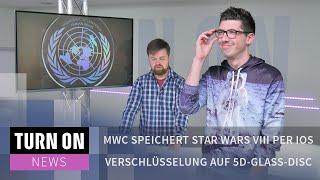 MWC speichert Star Wars VIII per iOS Verschlüsselung auf 5D-Glass-Disc - News