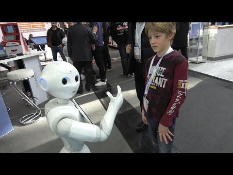 SoftBank Robotics Pepper SDK platform for emotional humanoid robot