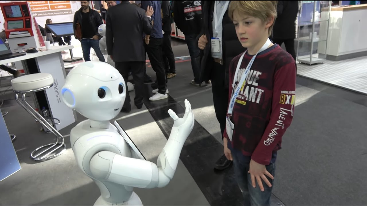 SoftBank Robotics Pepper SDK platform for emotional humanoid robot