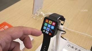 Xiaomi Mi Watch у меня в руках клон Apple Watch?