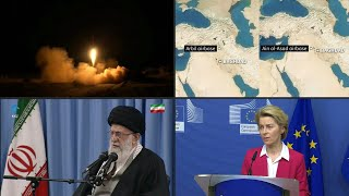 Irán responde a Estados Unidos atacando con misiles dos bases militares en Irak | AFP
