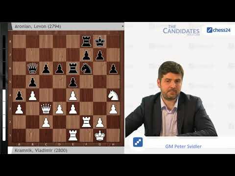 Kramnik-Aronian, Berlin Candidates 2018 Round 10 Recap with Peter Svidler