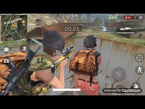 Free Fire Battlegrounds - eu e Dedê botando pra torar