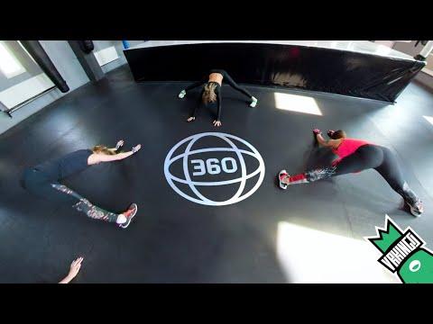 УТРЕННЯЯ ТРЕНИРОВКА • TRX в виртуальной реальность • Morning TRX Training 360 VR Video (#VRKINGS)