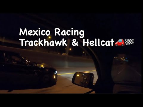 Went Mexico Racing in a Jeep TrackHawk