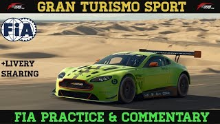 GT Sport - Livery Sharing - Fia Practice & Commentary