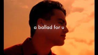 Chris Yang - A BALLAD FOR U (OFFICIAL MUSIC VIDEO)