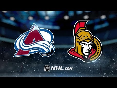 Colorado Avalanche vs Ottawa Senators | Jan.16, 2019 | Game Highlights | NHL 2018/19 | Обзор матча