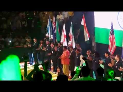National Anthem At Kabaddi World Cup India 2016 LIVE