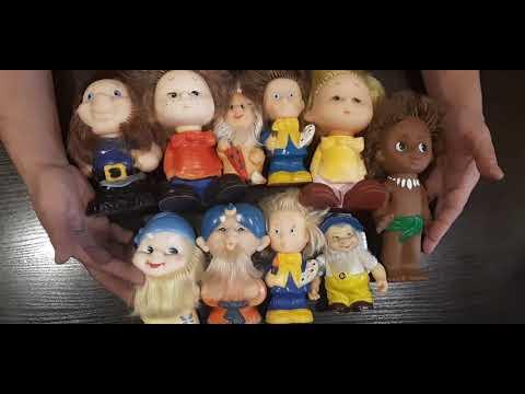 Куклы СССР, игрушки герои советских мультфильмов.Сколько стоят игрушки СССР?
