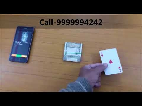Latest CVK 500,450 Playing Cards Analyzer For Cheating Playing Cards Game