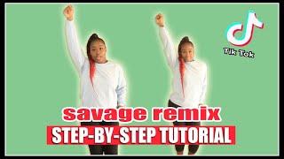 """SAVAGE REMIX"" Step-By-Step Tutorial   NaeNaeTwins"