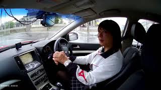 女装エアガンシューター優美子 ドライブ中に雑談動画