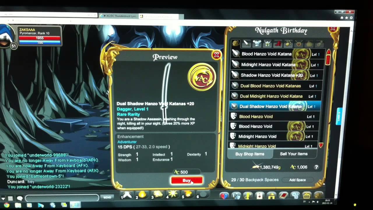 Aqw nulgath birthday shop update
