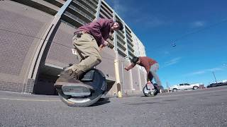 HOW TO LEARN TO RIDE AN ELECTRIC UNICYCLE