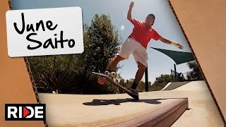 Tech Manuals & Casper Slides: June Saito - Flowed