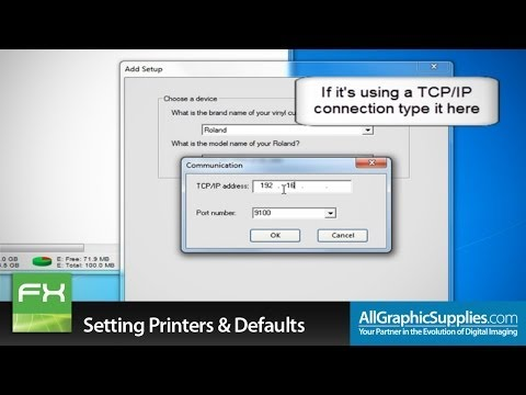 Setting Up Printers & Factory Defaults in FlexiSIGN - All Graphic Supplies
