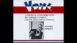 Tommy Dorsey trombone solo Smoke gets in Your Eyes  V-Disc recording