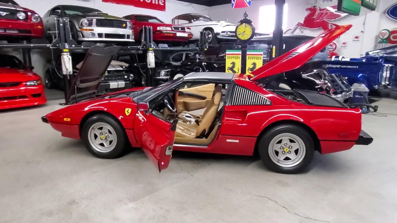 Ferrari 308 Gts For Sale >> Low Mileage 1982 Ferrari 308 Gtsi For Sale Fully Serviced Gorgeous Example Loads Of Documentation