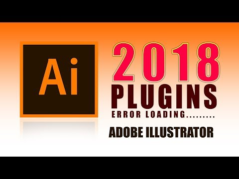 How to fix illustrator plugin loading error 2018 | Adobe Creative Cloud | I am Bala