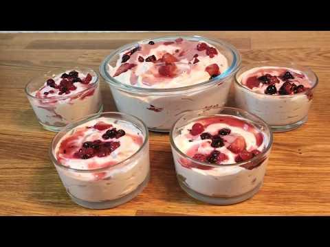 glace-aux-fruits-rouges-cuisine-maliya--recette-facile-et-rapide