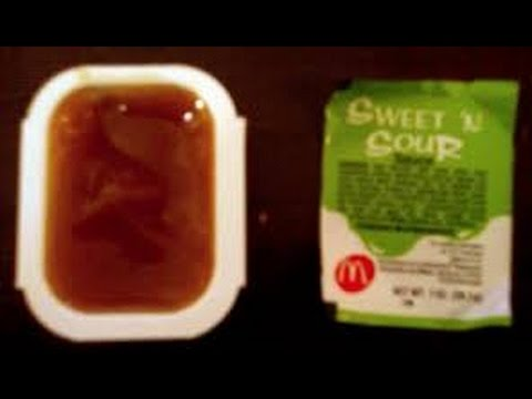 Mcdonald S Sweet And Sour Sauce Review The Sauce Reviews 2 Youtube