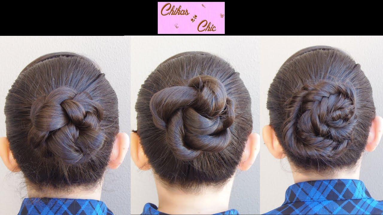 Peinados faciles y rapidos con trenzas 3 opciones - Peinados recogidos con trenzas ...