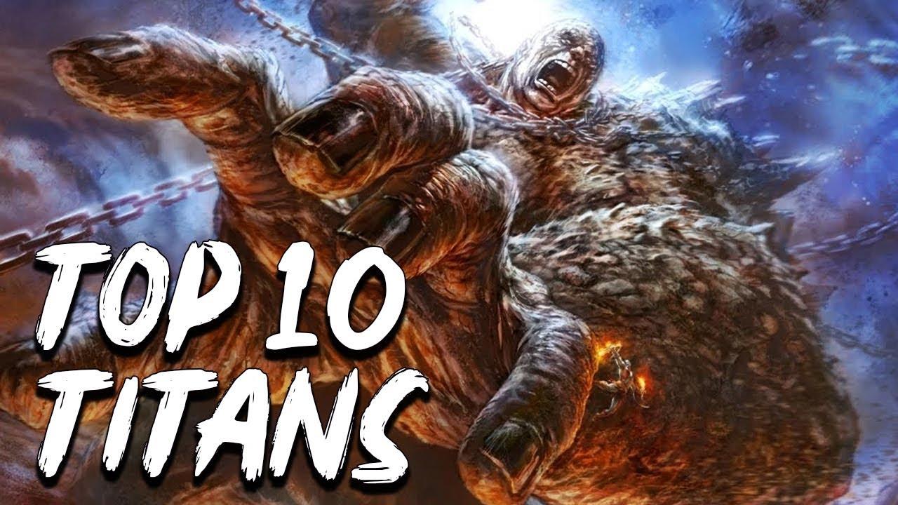 Top 10 Titans Of Greek Mythology Mythological Curiosities See U In History Youtube