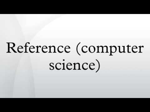 Reference (computer science)