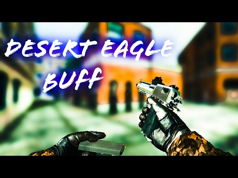 BULLET FORCE (2017 UPDATE): DESERT EAGLE AND AK-47 BUFFED GAMEPLAY