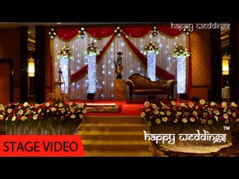 Engagement stage decoration vivanta by taj trivandrum by happy engagement stage decoration vivanta by taj trivandrum by happy weddings youtube thecheapjerseys Images