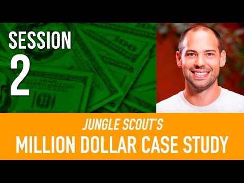 PRODUCT RESEARCH Amazon FBA 💵  Million Dollar Case Study | Jungle Scout I Session 2