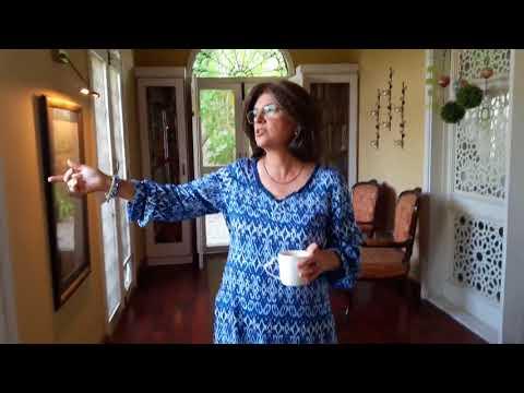 Marina Khan at home