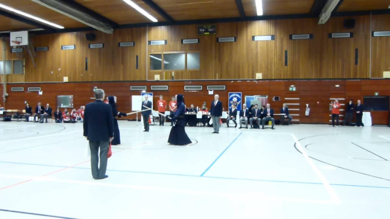 Deutsche kendo jugendmeisterschaft 2015 finale einzel for Kendo dojo locator