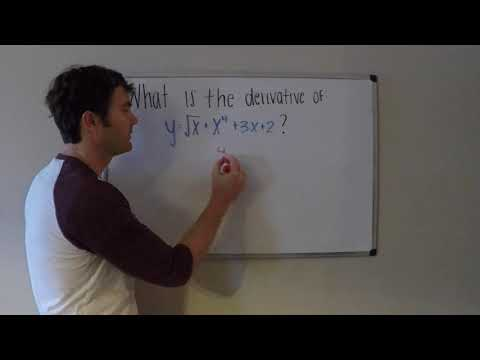 Derivatives - Basic Power Rule